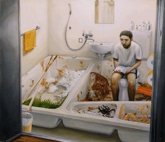 tetsuya-ishida-toilet-industrial-food-tv-dinner-surrealism