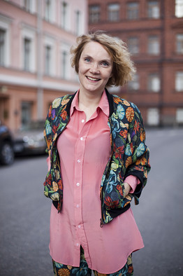 Liisa Jokinen of the fashion blog Hel Looks