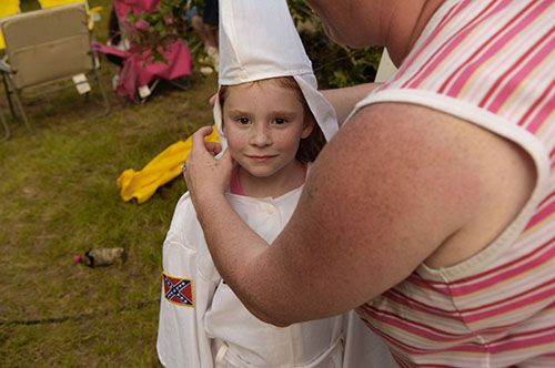 children omglog aryan outfitters ms ruth ku klux klan photoessay by photojournalist anthony karen